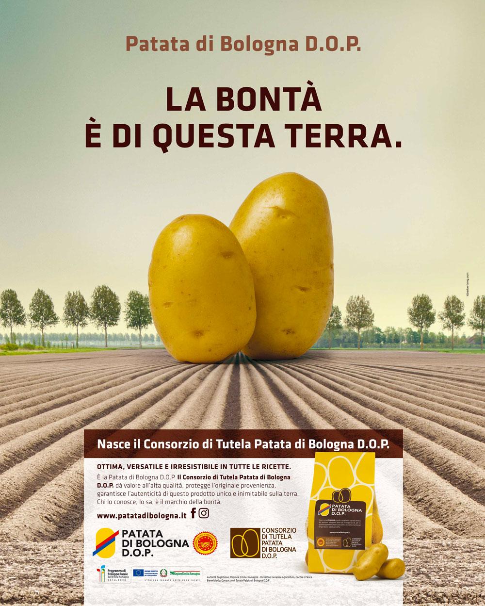 Patata di Bologna DOP - campagna ADV