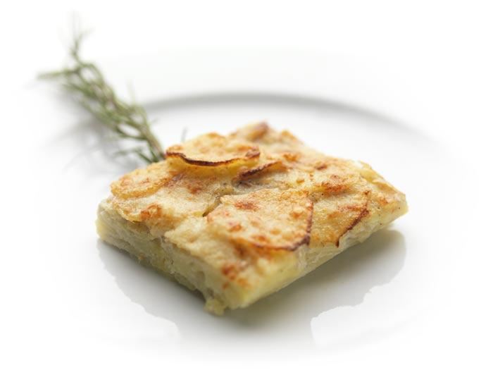 Patata di Bologna - Ricette - Millefoglie di Patate di Bologna D.O.P.