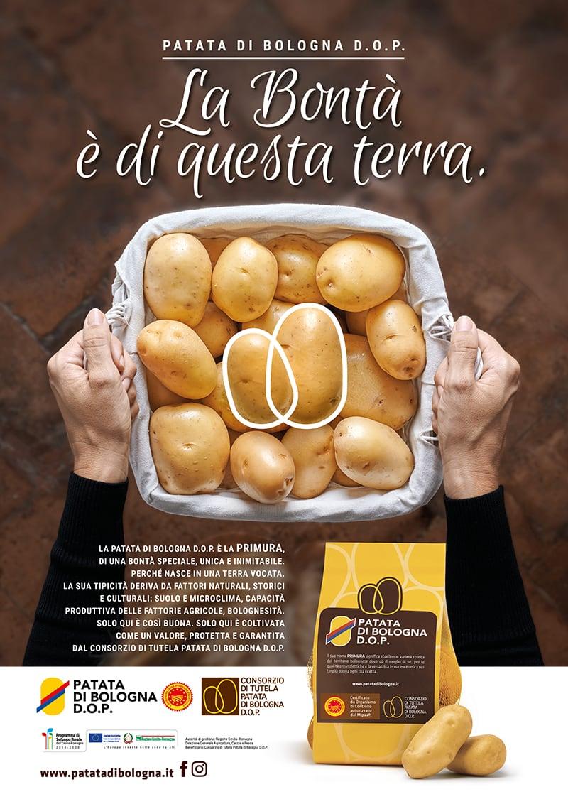 Patata di Bologna DOP - campagna ADV 2019